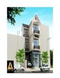 Thiết kế xây nhà 3 tầng trên đất 6,6 x 8,5m
