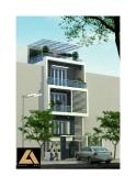 Thiết kế nhà phố trên diện tích 6,5m x 21m