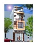 Thiết kế nhà trên diện tích 5m x 17,5m