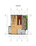 Thiết kế nhà trên diện tích 4,5 x 8,57m