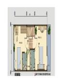 Thiết kế nhà ống 4x17m cho gia đình 3 thế hệ