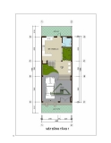 Thiết kế nhà đẹp trên diện tích 6m x 17m
