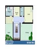 Thiết kế ngôi nhà lý tưởng diện tích 7x10m