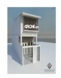 Thiết kế nhà hướng Đông, diện tích 3,6m x 17m