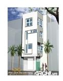 Thiết kế nhà phố 4 tầng theo công năng