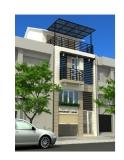 Xây nhà phố 3 tầng kết hợp kinh doanh