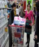 Trước khi đi đẻ cần mua sắm những gì?