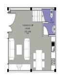 Xây nhà nhỏ 35 m2 theo phong thủy