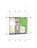 Thiết kế nhà hình thang trên đất 4,5 x 8,5 m