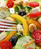 5 lưu ý về chế độ dinh dưỡng cho người già