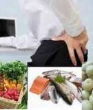 Những món người bị đau lưng nên ăn nhiều hơn