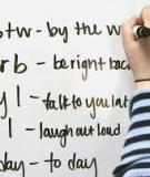 Học từ vựng tiếng Anh mau quên phải làm sao?
