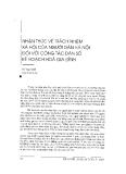 """Báo cáo """"Nhận thức về trách nhiệm xã hội của người dânhân dân Hà nội đối với công tác dân số kế hoạch hoá gia đình """""""