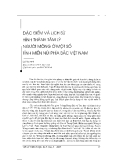 """Báo cáo """" Đặc điểm và lịch sử hình thành tâm lý người Mông ở một số tỉnh miền núi phía bắc Việt nam"""""""