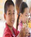 Cách phân chia thời gian bữa ăn phụ cho bé