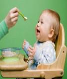 Giúp trẻ chăm ăn, chóng lớn hơn