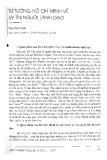 """Báo cáo """"Tư tưởng Hồ Chí Minh về uy tín người lãnh đạo """""""