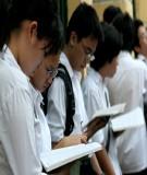 """Báo cáo """" Xung đột tâm lý giữa cha mẹ và con lứa tuổi học sinh THCS về nhu cầu độc lập"""""""