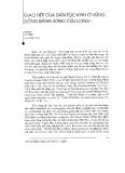 """Báo cáo """" Giao tiếp của dân tộc Kinh ở vùng Đồng bằng Sông Cửu Long"""""""