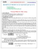 Hệ thống lý thuyết và các dạng bài tập Vật lý 11