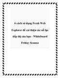 6 cách sử dụng Fresh Web Explorer để cải thiện các nỗ lực tiếp thị của bạn - Whiteboard Friday Seomoz
