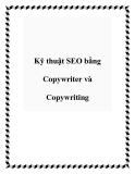 Kỹ thuật SEO bằng Copywriter và Copywriting