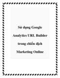 Sử dụng Google Analytics URL Builder trong chiến dịch Marketing Online