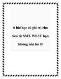 6 bài học có giá trị cho Seo từ SMX WEST bạn không nên bỏ lỡ
