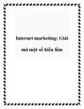 Internet marketing: Giải mã một số hiểu lầm