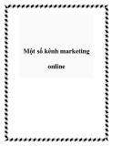Một số kênh marketing online