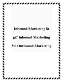 Inbound Marketing là gì? Inbound Marketing VS Outbound Marketing