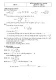 40 đề ôn thi học kỳ 2 môn toán lớp 11