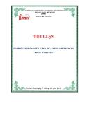 Đề tài: TÌM HIỂU MỘT SỐ CHỨC NĂNG CỦA MENU REFERENCES TRONG WORD 2010