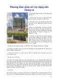 Phương thức giám sát xây dựng nhà chung cư