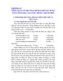 CHƯƠNG IV TỔNG QUAN VỀ THI CÔNG HỐ ĐÀO ĐỂ XÂY DỰNG TẦNG HẦM NHÀ CAO TẦNG TRONG THÀNH PHỐ