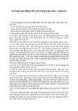 An toàn lao động đối với công việc sơn - quét vôi