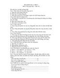 Đề kiểm tra 15 phút Công nghệ 7 (Kèm đáp án)
