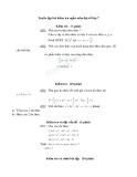 Tuyển tập bài kiểm tra ngắn môn đại số lớp 7