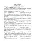 Đề kiểm tra học kì  2 môn ngữ văn lớp 10 - Mã đề C4
