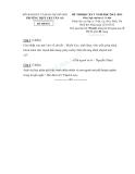 Đề thi học kì 1 ngữ văn lớp 11 THPT Chu Văn An 2012-2013 Đề 1