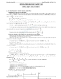 Đề ôn thi học kì vật lý 12 phần dòng điện xoay chiều