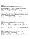 8 Đề ôn thi học kỳ Vật lý lớp 12