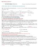 60 câu hỏi trắc nghiệm ôn thi học ki vật lý lớp 12
