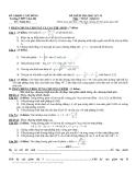 Đề thi học kì 2 môn toán lớp 12 trường THPT Lâm Hà - có lời giải