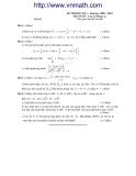 Tổng hợp đề thi học kì 1 môn Toán lớp 12 năm 2009-2010 (có lời giải)