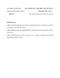 Tổng hợp đề kiểm tra môn Lịch sử lớp 12 năm 2010-2011 - Trường THPT Nông Cống 2