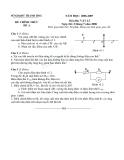 Tổng hợp đề thi vật lý lớp 12 của sở GD&ĐT Thanh Hóa