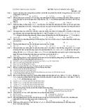 Đề thi vật lý lớp 12 cơ bản mã đề 123 trường THPT Hai Bà Trưng