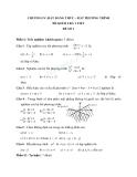 10 Đề kiểm tra 1 tiết Toán 10 - Chương IV: bất đẳng thức-bất phương trình