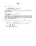Bộ 6 đề kiểm tra toán học kì 1 lớp 11 môn toán
